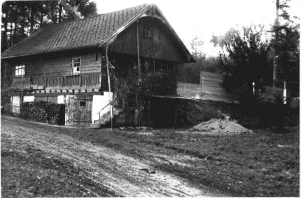 Vereinsheim um 1960