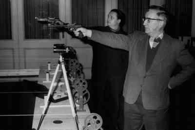 Pistolen-Schießen im Hirschen
